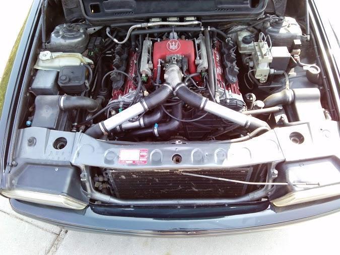Maserati Ghibli 2.8 motor