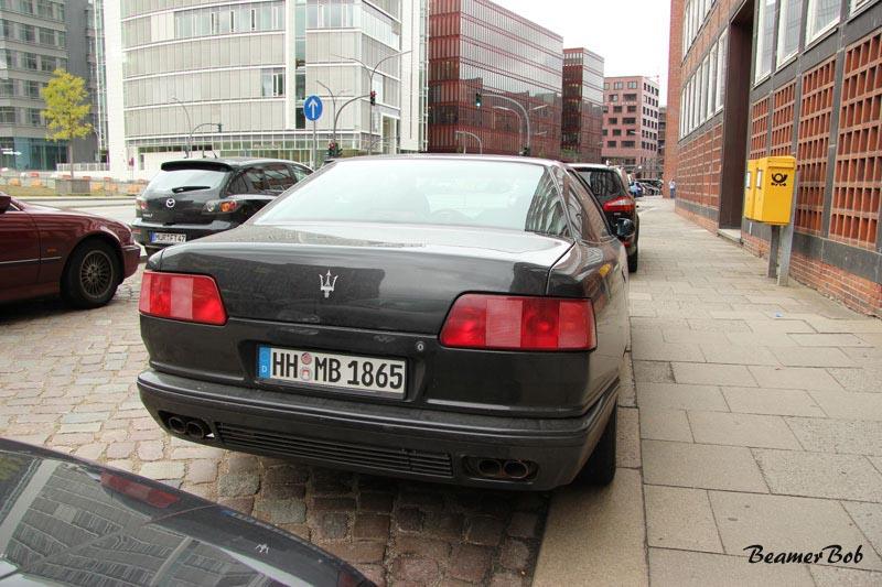 Maserati Quattroporte V8 achter