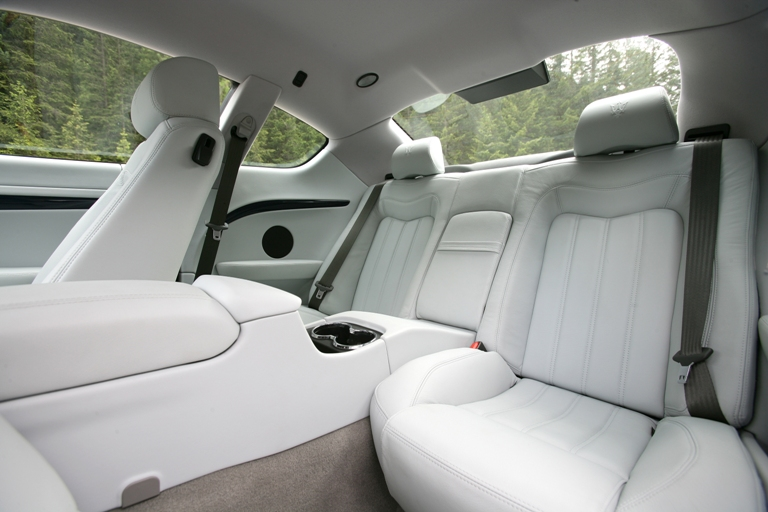 Maserati GranTurismo interieur achterin