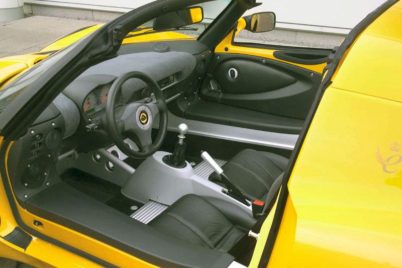 Lotus Elise 122 S2 interieur