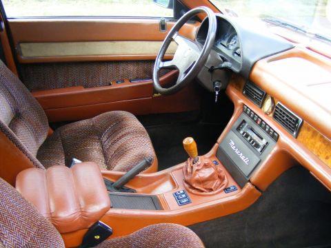 Maserati Biturbo 420 interieur