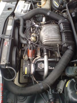 Maserati Biturbo 420 motor