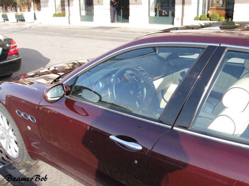 Maserati Quattroporte V detail