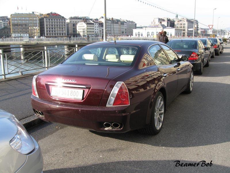 Maserati Quattroporte V rechtsachter