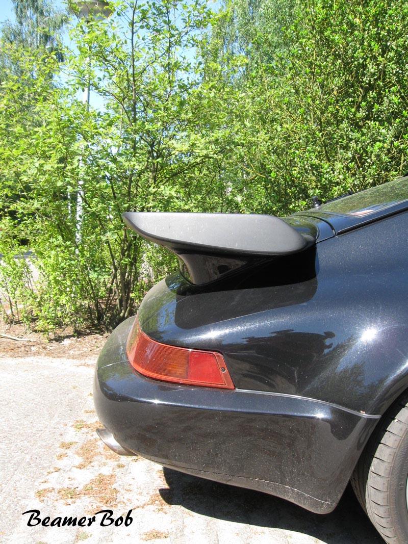 Porsche 911 965 Turbo 3.3 achterdeel