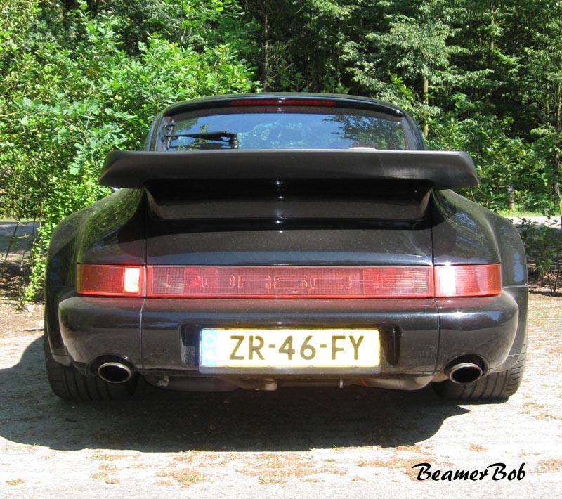 Porsche 911 965 Turbo 3.3 achterkant