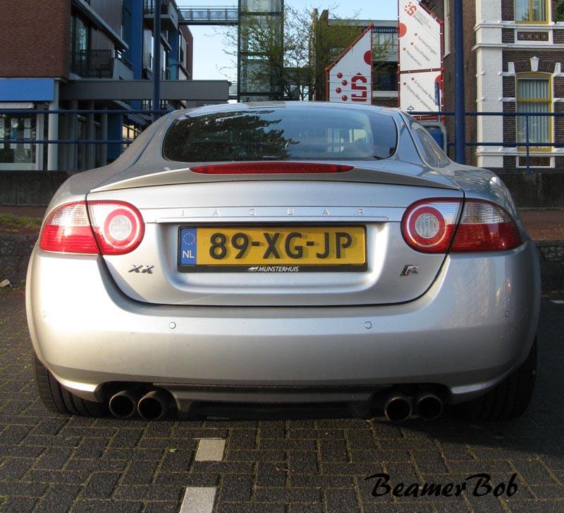Jaguar XKR 2006 achterkant