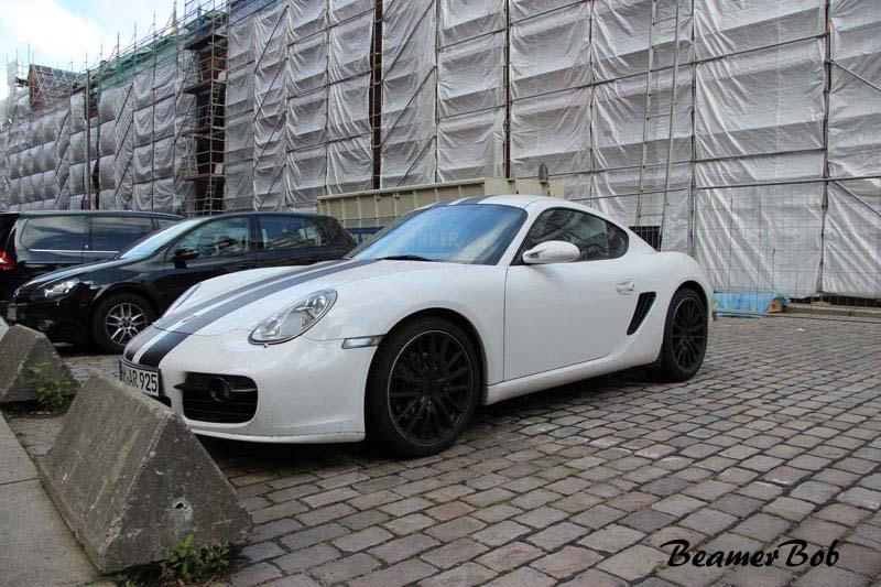 Porsche Cayman 987 linksvoor