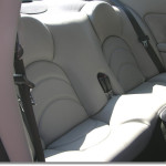 Jaguar XKR series I achterbank