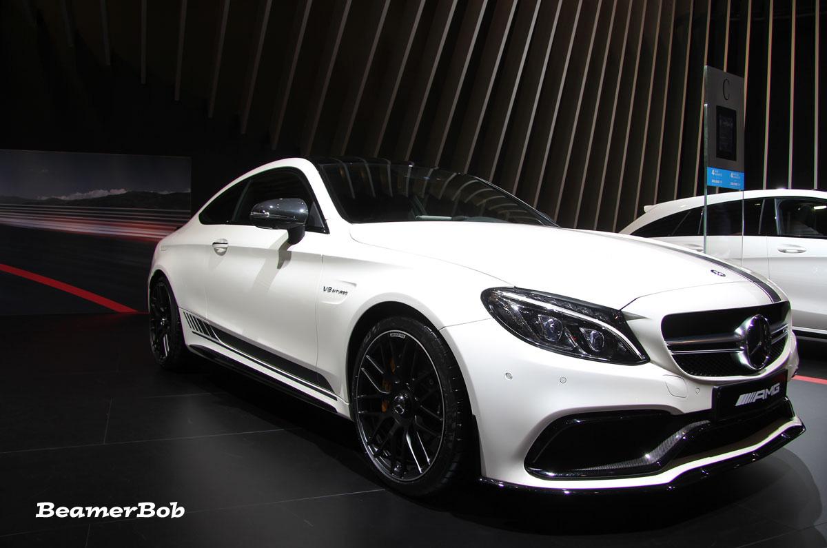 Mercedes AMG C63S Coupé