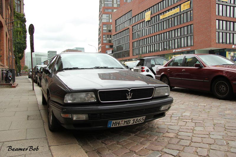 Maserati Quattroporte V8 voorkant