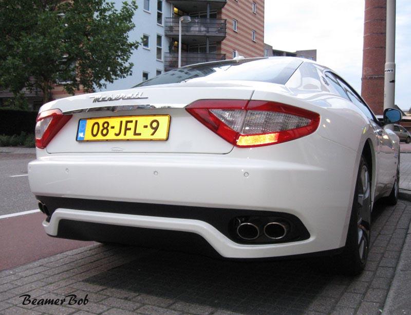 Maserati GranTurismo achterkant
