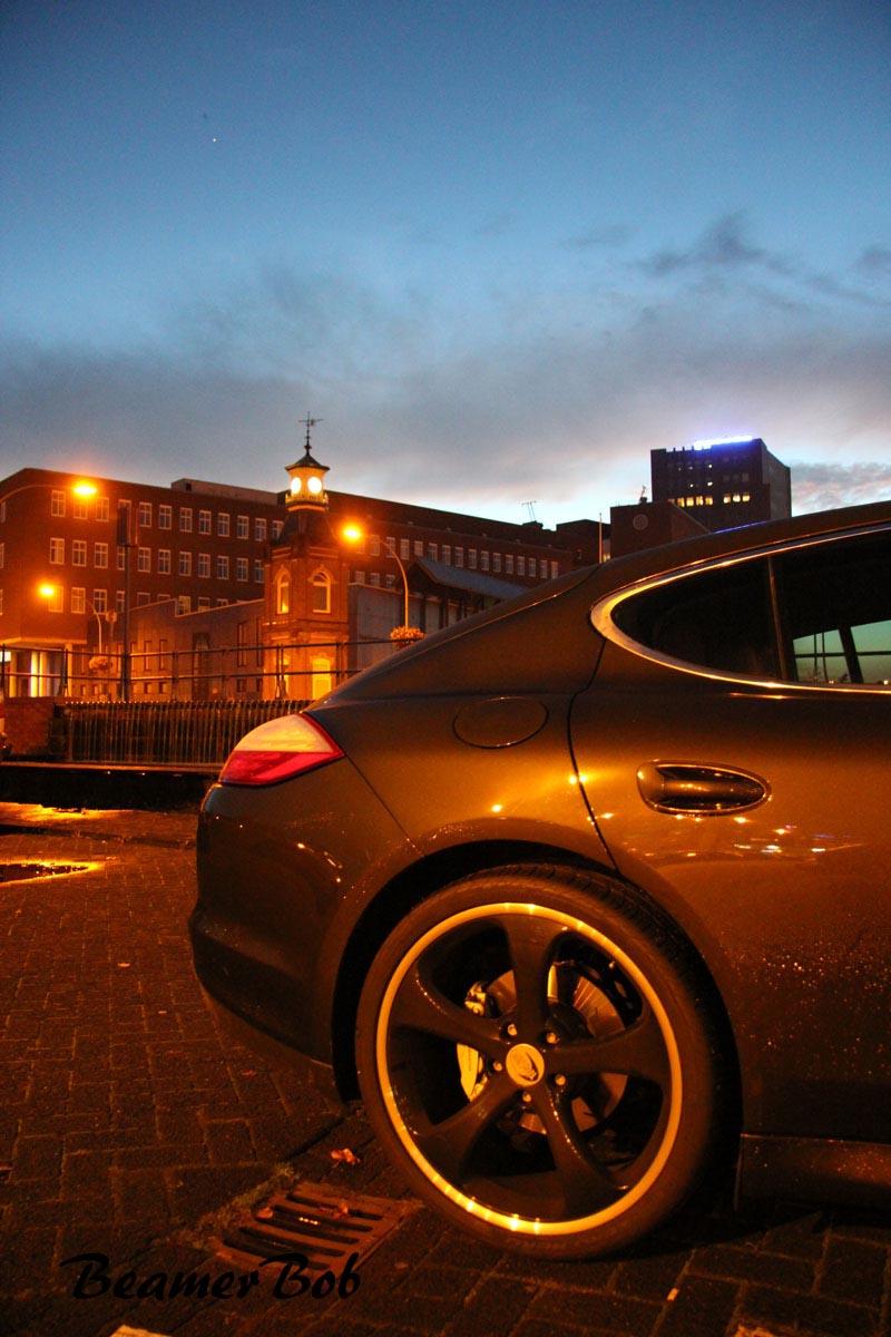 Porsche Panamera 4S MkI sunset