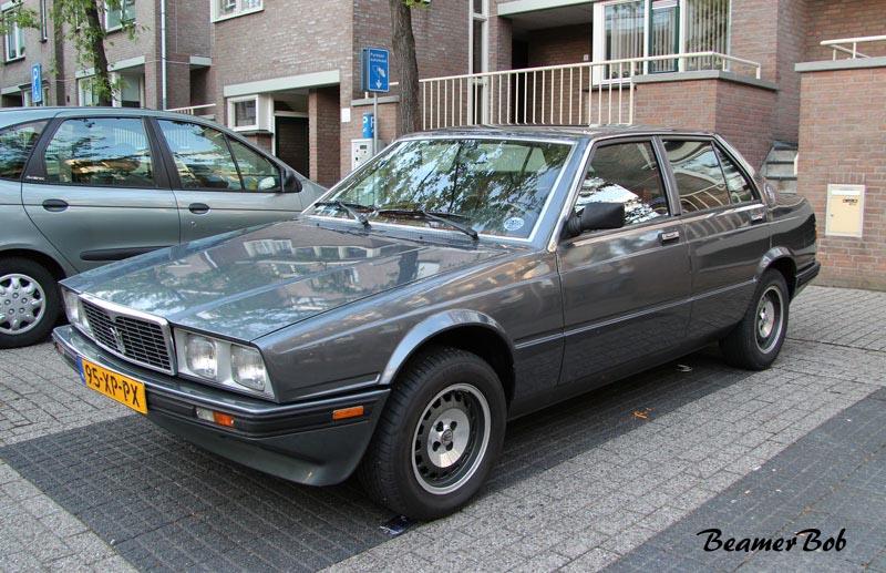 Maserati Biturbo 420 linksvoor