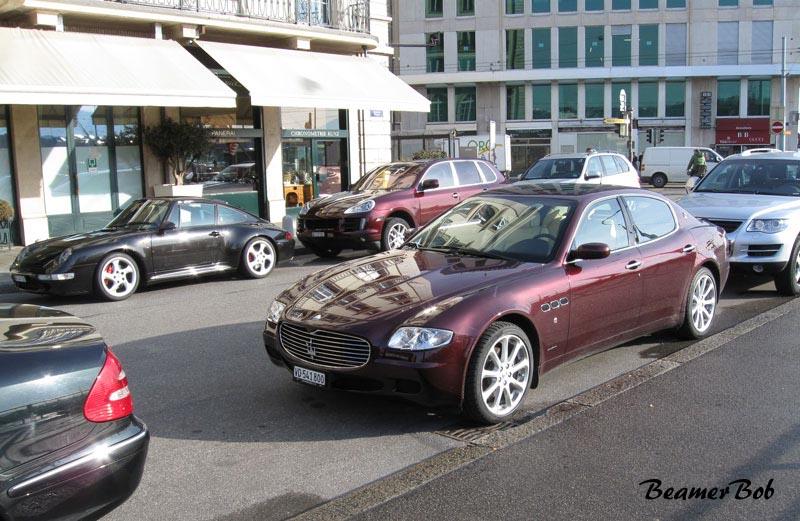 Maserati Quattroporte V linksvoor