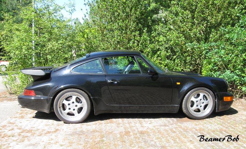 Porsche 911 965 Turbo 3.3 zijkant