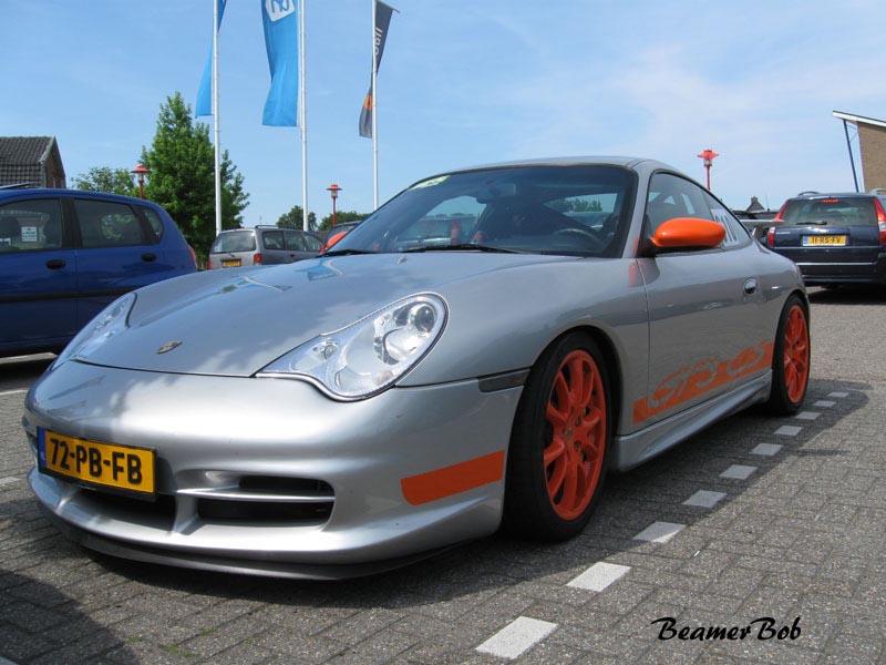Porsche 911 996 GT3 MkII Clubsport linksvoor