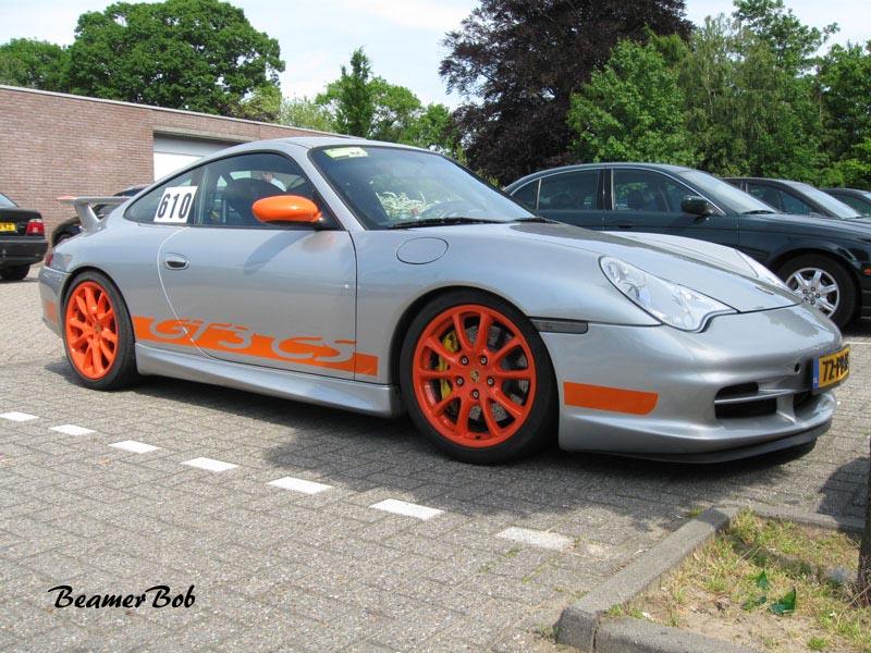 Porsche 911 996 GT3 MkII Clubsport rechtsvoor