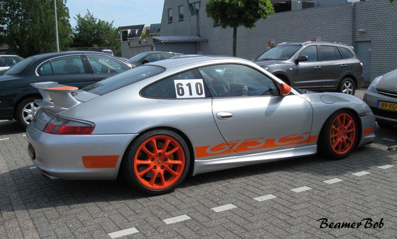 Porsche 911 996 GT3 MkII Clubsport zijkant