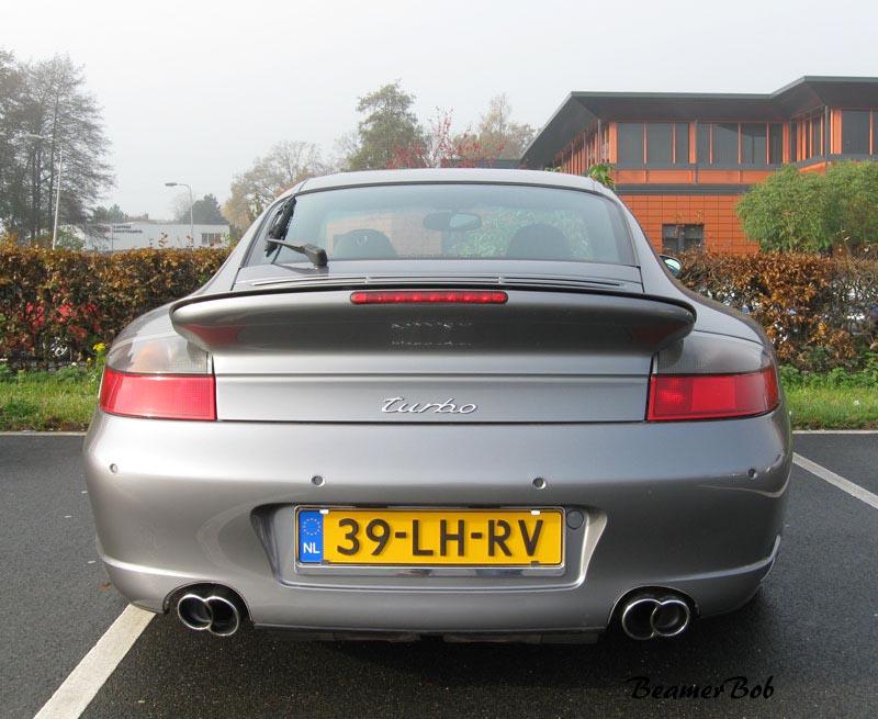 Porsche 911 996 Turbo achterkant