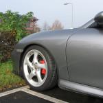 Porsche 911 996 Turbo detail voor