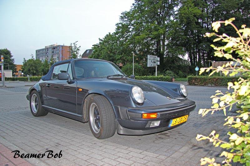 Porsche 911 Carrera 3.2 Cabriolet rechtsvoor