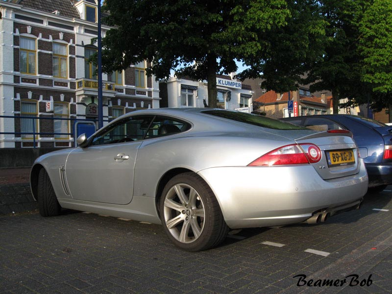 Jaguar XKR 2006 linksachter