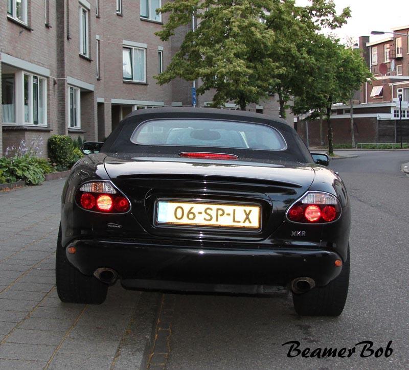 Jaguar XKR Convertible series I achterkant