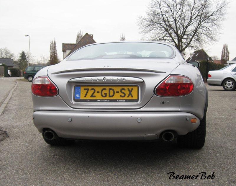 Jaguar XKR Silverstone achterkant