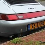 Porsche 993 Carrera Cabriolet achterkant 2