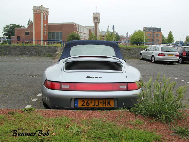 Porsche 993 Carrera Cabriolet achterkant