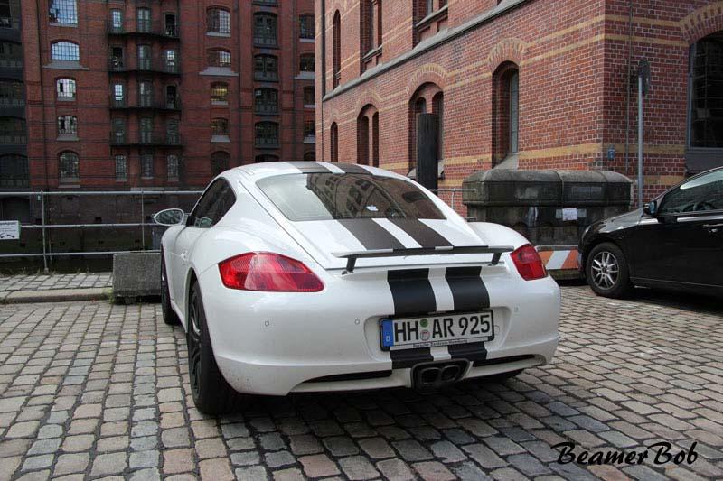 Porsche Cayman 987 linksachter