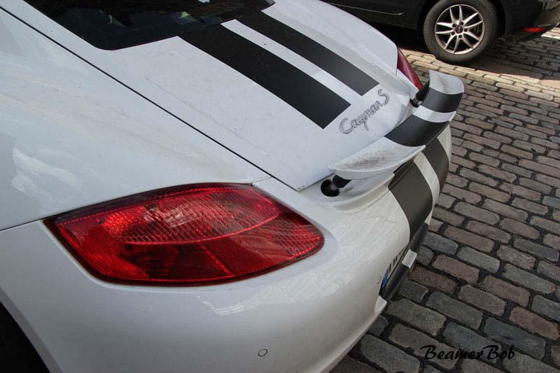 Porsche Cayman S 987 achterspoiler