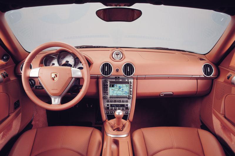 Porsche Cayman S 987 interieur