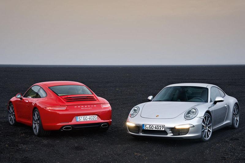 Porsche 911 Carrera en 911 Carrera S.